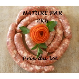 CHIPOLATAS LOT DE 2 KG