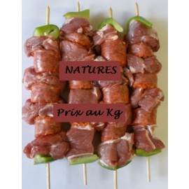 Brochette de MOUTON Nature