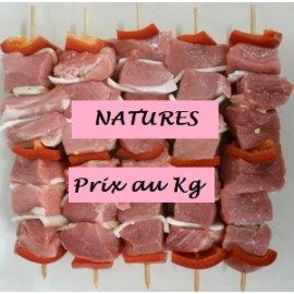 Brochette de porc Nature