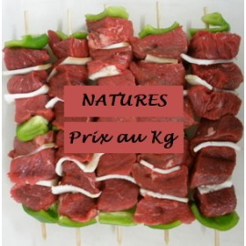 Brochette de Boeuf Nature