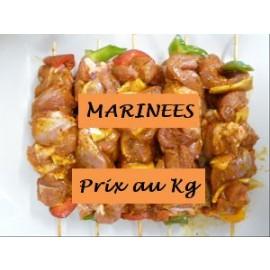 Brochette de Dinde Marinée