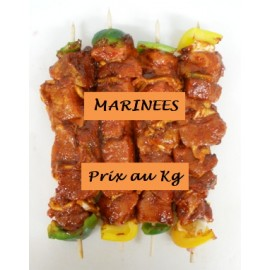 Brochette de PORC Ananas Marinade RIBS au kg